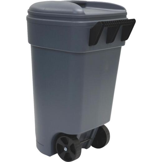 United Solutions Rough & Rugged 50 Gal. Wheeled Commercial Trash Can
